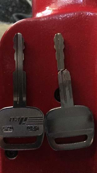 New Cut Key